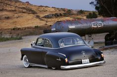 51 chevrolet | 51 Deluxe with Flat Black Paint, but not to hide anything!