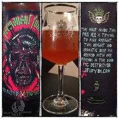 Permanent Funeral from @3Floyds - Tangerines and orange zest rub the nose, pursued by slowly dehydrating mandarin chews. Abrasively bitter mouth wallop with peaches, mangos and blood oranges bludgeoning the palate. Orange vanilla caramels keep it from keeling over too soon. Starfruit swoops in to deliver an impromptu eulogy while guava nectar pays its respects to the deceased, finishing bitter-sweetly. A touch of strawberry cotton veils the departed. #properglassware