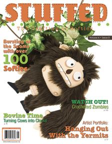 Softies, dolls, stuffed animals, call them what you will--this magazine will inspire you to create your own!