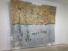 El Anatsui Artist Exhibition Jack Shainman Gallery New York