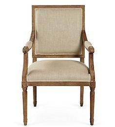 A late-Georgian Neo-Classical armchair.