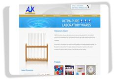 Aquix  This website is owned by Aquix. They are selling laboratory wares. This is lite shopping cart, where customers can add products to cart and ask for quotation. #Singapore