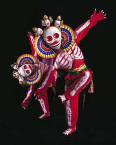 Tibetan Dance of the Skeleton Lords