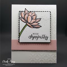 Remarkable You - Sympathy card #2