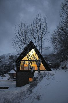 House at the Pyrenees, Spain by Cadaval & Sola... | Architecture~Design~Interiors~Exteriors