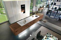 Kitchen Flooring, Kitchen Furniture, Kitchen Wood, Amazing Architecture, Interior Architecture, Galley Kitchens, Interior Decorating, Interior Design, Functional Kitchen