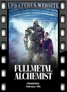 Fullmetal Alchemist (W) Action Adventure Fantasy. Two alchemist brothers go on a quest for the Philosopher's Stone after an attempt to revive their dead mother goes horribly wrong. Edward Elric, Netflix, Live Action, Movies To Watch, Good Movies, Cgi, Science Fiction, Fulmetal Alchemist, The Image Movie