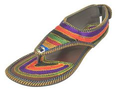 Step n Style Handmade Shoes Women Sandal Embroidered Indian Boho Ethnic Flip On Juti *** More info could be found at the image url.