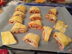 Partys, Tacos, Muffin, Breakfast, Ethnic Recipes, Author, Ham And Cheese, Top Recipes, Easy Meals