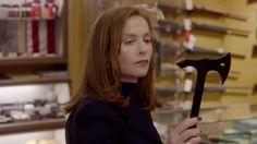 Dans Elle, un film de Paul Verhoeven (2016).