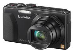 Panasonic Lumix DMCTZ40 Black 20x Optical Zoom Digital Camera (DMC- TZ 40 or DMC-TZ40EB-K)