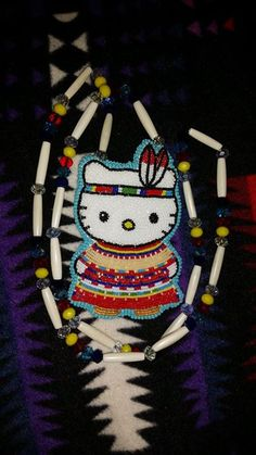 Beyond Beautiful Beaded Creations and Supplies (White Earth Ojibwe)… Native American Regalia, Native American Beadwork, Beadwork Designs, Native Design, Nativity Crafts, Native Beadwork, Beaded Crafts, Beading Projects, Beads And Wire