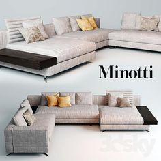 sofa white minotti - Pesquisa Google