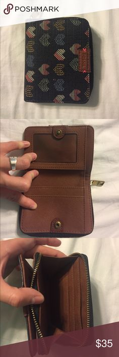 Fossil Wallet Fossil Emma Multi Function Wallet. In great condition Fossil Bags Wallets