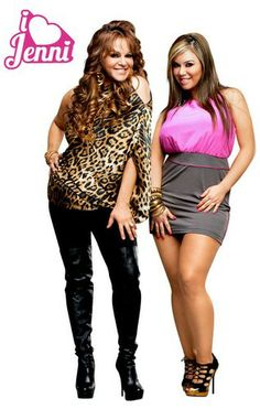 Jenni Rivera and her daughter Chiquis poster for the reality Tv show I Love Jenni
