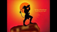 Image result for hanuman silhouette