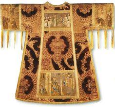 Manifattura fiorentina del XV secolo, tonacella del Parato Altoviti