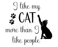 Cats SVG, I Like My Cats, Like People, Cat Quote, Coffee Mug Quote, About My Cat, Pet Cat, Love Cats, Cat Lover SVG, Instant Download I Love Cats, Cute Cats, Funny Cats, Adorable Kittens, Baby Cats, Cats And Kittens, Ragdoll Kittens, White Kittens, Cat Love Quotes