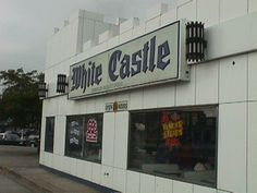 White Castle, it's never a good morning when u end up here at the end of the night, then eat leftovers the next day....