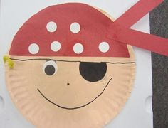Cute and easy pirates for pirate unit! Pirate Preschool, Pirate Activities, Preschool Crafts, Activities For Kids, Pirate Art, Pirate Theme, Pirate Door, Pirate Ships, Pirate Birthday