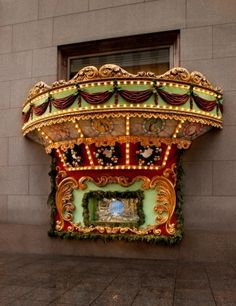 "Tiffany & Co., New York, ""The Winter Carousel;"" Richard Moore, vp, creative visual merchandising; Christopher Yong, group creative director, creative visual merchandising; Photography: Ricky Zehavi, New York"