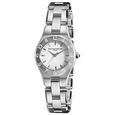 Best Buy Baume  Mercier Womens 10009 Linea Silver Dial Stainless Steel Watch at http://get.nazuka.net/review/product.php?asin=B005OAZW18