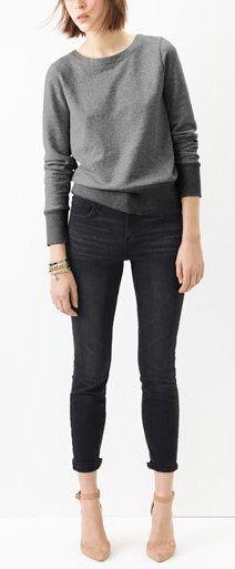 High Rise Skinny Skinny Jeans
