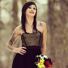 Tattooed Bride:-*