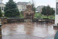 stamped concrete patio | Concrete Construction - Image Gallery - Stamped Concrete Patios ...