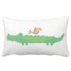 In the Jungle Nursery Throw Pillow