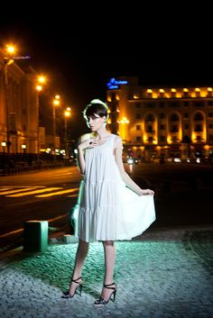 The Stunning Look, fashion, blogger, stunning, white dress, h, zara, glitter sandals, cute