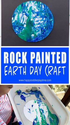 Create a beautiful planet earth craft for Earth Day in this exciting gross motor art activity for kids! It's a great craft project for activity kids! Earth Day Activities, Art Activities For Kids, Toddler Activities, Therapy Activities, Daycare Crafts, Classroom Crafts, Preschool Crafts, Earth Craft, Earth Day Crafts