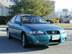 My sixth vehicle. 2002 Nissan Sentra SE-R Spec V.