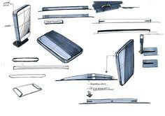 中興通訊大S II - 先進的概念設計 - 2013年Behance