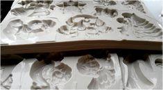 Kész szilikon sablon csokoládé formákhoz Ice Tray, Decor, Decoration, Decorating, Deco