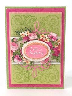 The Craft Channel U.K. January 28th Shopping List | Anna's Blog - Birthday Clear Stamps
