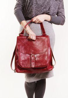 Benjamin Bordo - Bordo backpack transformer   Bordo leather backpack    Bordo leather bag  Bordo leather purse   Leather backpack by A-Rada. Thandi  Bosman 32f3711e09911