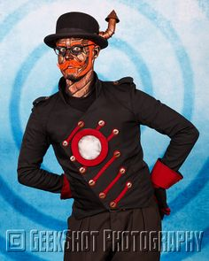 Hatchworth of Steam Powered Giraffe. You can find this and many more SPG prints in our store.