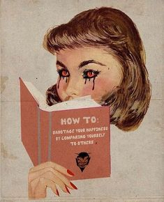 how to sabotage your happiness Collage Artwork, Wall Collage, Vintage Comics, Vintage Art, Pot Pourri, Pulp, Oui Oui, Retro Aesthetic, Fantasy