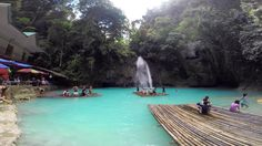 Kawasan Falls, Philippines, february 2016