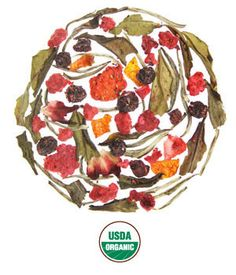 Rishi Plum berry White Tea- Organic Blend