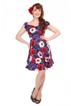 Mini Dolores Doll Winter Floral Dress 0