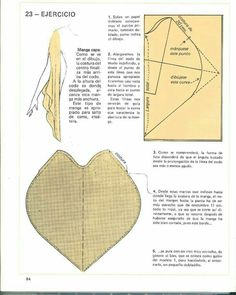 Cape sleeve from 20160129150148401 Sewing Hacks, Sewing Tutorials, Sewing Crafts, Sewing Projects, Techniques Couture, Sewing Techniques, Pattern Cutting, Pattern Making, Dress Sewing Patterns