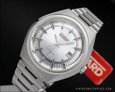Duward King 50's Cocktail mechanical vintage watch 18K solid