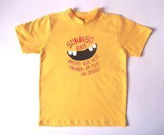 "Camiseta ""Sorriso 1001"" - Pula Saci"