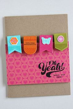 Way To Go Card by Heather Nichols for Papertrey Ink (March 2015)