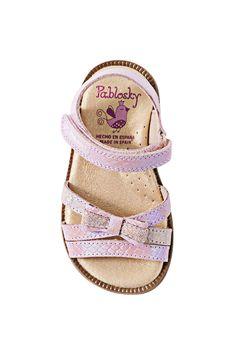 Disney Frozen Sandalias Premium con Plantilla en Piel Color Lila