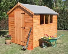Classy Wooden Garden Sheds - Again, make sure to cover the entire structure paying close attention to corners and crevices, this will prevent any moisture from seeping in the shed.