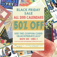 ARTiculatePRINTS Black Friday Sale Event 2014 #blackfridaysales #etsysales