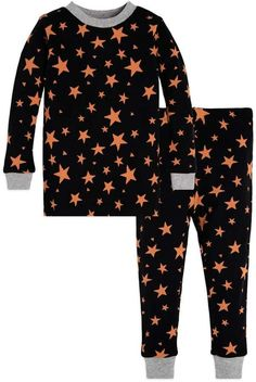 Shooting Star Bee Baby Organic Halloween Pajamas  Encased patch elastic  Halloween Pajamas ab8b0a028